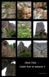 Stock Pack - Castle Ruin II by rockgem