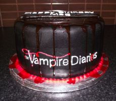 Vampire Diaries theme by MissMarysCakes