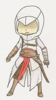 Assassin's Creed: Chibi Altair Version 2 by NatoruNeko