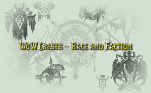 WoW Race and Faction Brushes by MageStiles