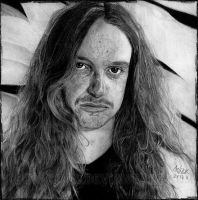 Cliff Burton by Red-Szajn