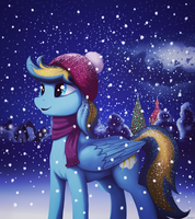 Holiday night by MrScroup