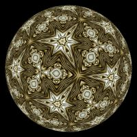 GLOBE ODE TO ESCHER by Voyager-I