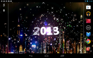 WIP New Year Android Live Wallpaper by graphicated-cologne