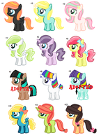 CLOSED - Random Filly Adopts - 10 points by rem-ains