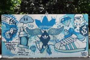 Graffiti for Street Party by Turbo-S2K