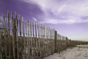 Beach Fence by rojoepeters