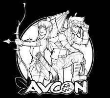 AVCon Tshirt Comp Entry by zii