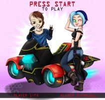 { Contest } Press Start by M0onQueen