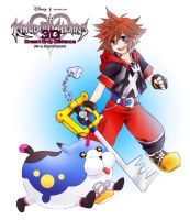 + KH3D Sora + by Bunny-Boss
