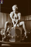 Forties Film Star by AmeliaG