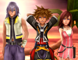 Welcome to our Kingdom of Hearts by HakuMizuki