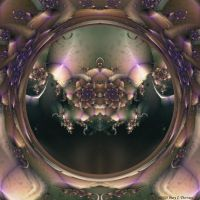 Mirror into Another World by FireLilyFractals