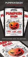 Pumpkin Bash Flyer by PixelladyArt
