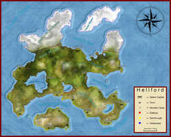 Hellford Map by ofcourseimanorange