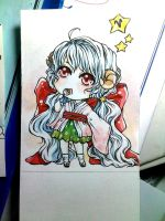 chibi water color by fishforfun21