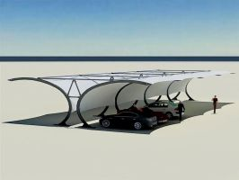 Tensile Structure for Multiple Car Parking by jamescarrey123