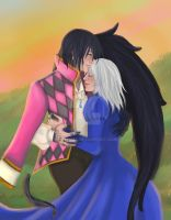 Howl and Sophie by YoSkrill