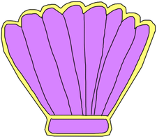 Clam Badge by jacobyel