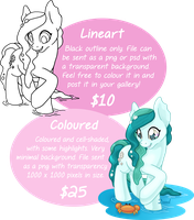 MLP Commission Info - OPEN by deeed