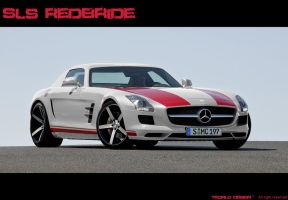 Mercedes-Benz SLS RedBride by TeofiloDesign