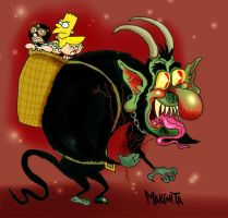 The Krampus by Makinita by Makinita