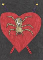 The Heart of a Spider by DelphiniumFleur