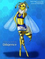 [Auction] 7 Virtuous Anthros: Diligence by Ulario