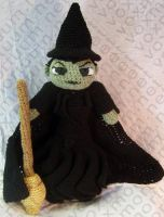 Wicked Witch Amigurumi Doll by voxmortuum