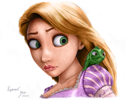 Rapunzel Coloring 2 by SyntaxError255