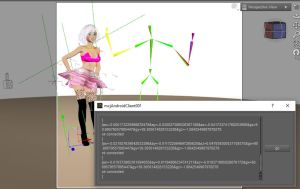 phone/tablet control of Daz Studio by mCasual