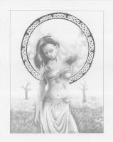 Celtic Moon Goddess by kaylin