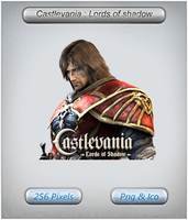 Castlevania Lords of Shadow icon by awsi2099