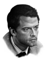 Misha Collins by Katmel777