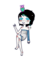 Chibi Commision + Tiny-Little-Bunny + by MishiTheSugar