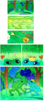 The Frog Prince. Part 1 by XXI--XII