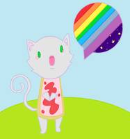 Nyan the poptart cat by Shikigami-chan