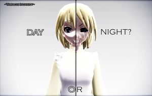 {MMD x FNAF} 2 Faces by Tamachi-Insanity