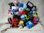 oviewview my plushies by qioo