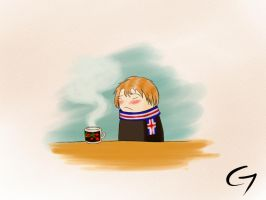 Having a cold by Tamashi-Bjorn