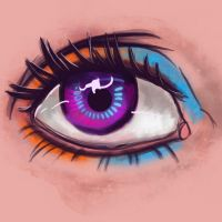 PRETTY EYE by CloudedEnigma