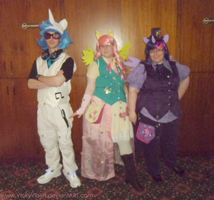 Ponypunk Group at MLP-MSP by VickyViolet
