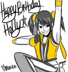 Happy Birthday Holly :D by MiyomotheCat