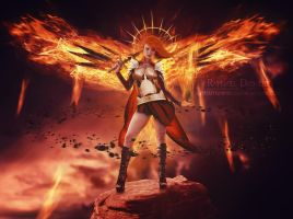 The Angel of the Apocalypse by thornevald