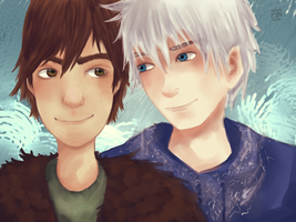 Jack/Hiccup by GreenBrains