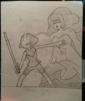 On the Battlefield by Awesomebuscus