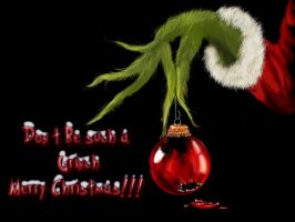 Grinch Card by elusionary