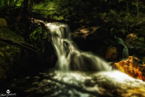Glow of the Waterfall by mjohanson