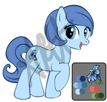 MLP Adoptable: Hyacinth by Enalon