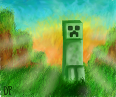 The Shadow of a Creeper by Nefixion
